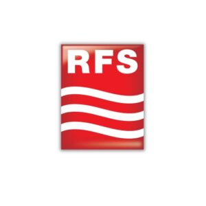RFS Logo IT infrastructure image. Radio Gagas The Antenna Farm, antenna, IT, and communications equipment